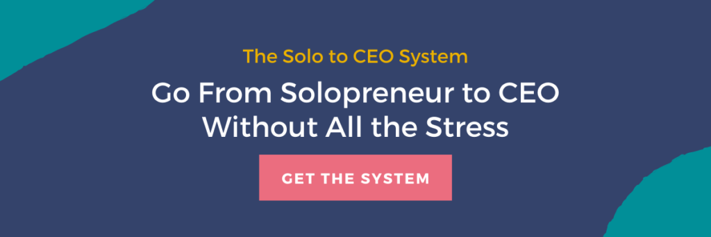 solo to CEO system